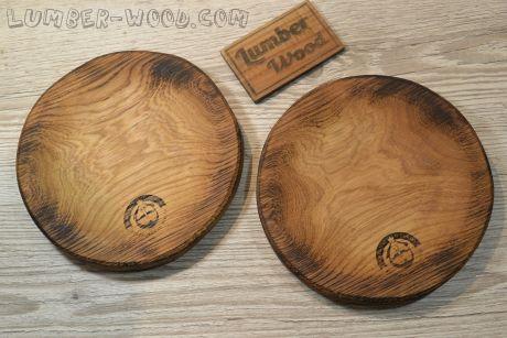 Разделочная тарелка круглая D-20 см 256